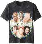 Authentic WWE Youth Wrestlemania Shirt. John Cena Rock Lesnar Triple HHH
