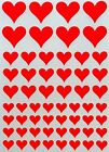 Decorative Heart Shape Stickers Ideal For Scrapbooking Crafts Projects 290 Pack