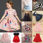 Toddler Kids Baby Girl Outfits Clothes T-shirt Tops Shirt Dress Skirt Lace Dress