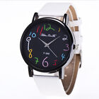 Luxury Women Stainless Steel Quartz Wrist Watch Ladies Leather Bracelet Watches