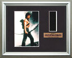 RAMBO 2     Sylvester Stallone    FRAMED MOVIE FILMCELLS