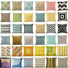 "Square 18"" Fashion Cushion Cover Throw Pillow Case Home Decor Cotton Linen Car"