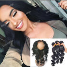 360 Lace Frontal Closure Loose Wave with Brazilian Hair 3...