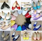 Womens Sandals Candy Color Ballet Boat Casual Slip On Flats Loafers Single Shoes