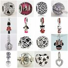 Authentic Solid 925 Sterling Silver Charms Q fit European Bead Charm Bracelets