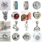 Authentic Solid 925 Sterling Silver Charms AD fit European Bead Charm Bracelets