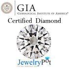 0.34CT D VS2 Round GIA Certified Natural Loose Diamond Stone (Cert 1102233490)