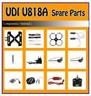 R/C Radio Control UDI U817 U817A U818 U818A 4CH UFO Helicopter Parts Accessories