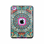Heavy Duty PC TPU Shockproof Flower Pattern Hard Case Cover For iPad 2 3 4 5 6