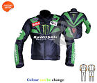 Racing team leather jacket motorbike riding apparels customize your bike leather