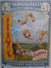 Ringling Bros, Barnum & Baily 1960s Reprint of 1895 Famous Silbons Poster