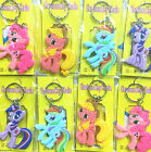 My Little Pony Key rings bookbag charms  Double Side Rubber fr23