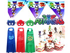 CHOOSE PJ Masks Birthday Party COSTUME Balloons Banner Latex cupcake topper MASK