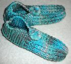 Внешний вид - SLIPPERS~Knitted~Washable~Removable Pom Pom~Acrylic~Colors Vary~Adult 7-8~NEW
