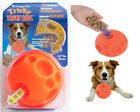 Omega Paw Tricky Treat Ball Dog Toy asst Size Free Shipping