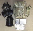 BRITISH ARMY CURRENT ISSUE GSR RESPIRATOR WITH CASE & SPARE FILTERS - SIZE 3