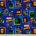 LICENSED MARVEL AVENGERS PATCH KIDS SEWING CRAFT QUILT FABRIC Free Oz Post