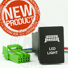 """THE ALL NEW Toyota Hilux light switch """"HIGH QUALITY FINISH"""" Blue LED back lit"""