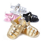 PU Leather Baby Moccasins Child Kids Girl Boy Sandals Shoes Anti Slip 0-18 Month