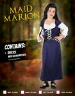 Kids Medieval Princess Maid Marion Girls Book Week Fancy Dress Costume Outfit