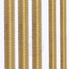 M3 M4 M5 M6 M8 M10 Fine Threaded Solid Brass Rod Screws Bolts Select 80 to 500mm