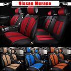Bring Car Seat Cover Mat Chair Pad Full Set C37LJ PU Leather Fits Nissan Murano