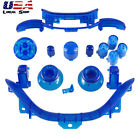 Clear Blue Full Repair Kit RB LB ABXY Guide Buttons Dpad for Xbox 360 Controller