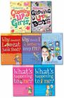 Usborne Growing Up for Girls & Boys What's Happening to me Series Collection Set