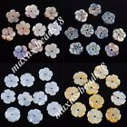 New Zelanian Abalone Shell Pearl Flower 8x1mm Loose Beads Jewelry Charm MBN231