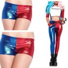 New Womens Ladies Suicide Squad Party Harley Quinn Costume Shorts Leggings Pants