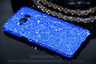 Super Bling Blue Austria Diamond Crystal Case Cover For Samsung Galaxy S8 Plus