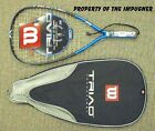New Wilson Triad 180 Racquetball S-SM 3 5-8 or X-SM 3 7-8 180 g rare easy on arm