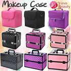 Professional Portable Cosmetic Beauty Case Makeup Box Hairdressing Organiser New