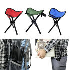 Folding Chair Hiking Fishing Lawn Portable Pocket Chair With 3Legs Stool 3colors