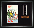 BOND 007  Dr. No    Sean Connery - Ursula Andress   FRAMED MOVIE FILMCELLS $32.62 AUD