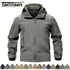 Waterproof Tactical Soft Shell Men Jacket Coat Army Windbreaker Outdoor