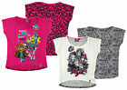 Girls PACK of 2 Monster High Front/Back Print T-Shirts 14 Years SALE
