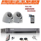 Hikvision CCTV HD 1080P 2.4MP Night Vision Outdoor DVR Home Security System Kit New