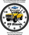 1969 CHEVROLET K5 BLAZER WALL CLOCK-FREE USA SHIP