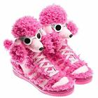 adidas Originals Jeremy Scott Pink Poodle  JS boots hi-tops BNIB  Sizes 7 - 11