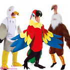 ADULT BIRD ANIMAL MASCOT SEAGULL PARROT VULTURE NOVELTY FANCY DRESS COSTUME