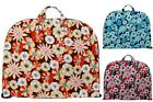 Multicolor Floral Cotton Quilted Lightweght Garment Luggage Overnight Travel Bag
