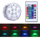 RGB Multi Color Changing Swimming Pool Light IP68 Waterproof for Aquarium,Party