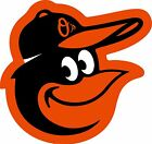 BALTIMORE ORIOLES Logo ~ Window WALL DECAL * Vinyl Car STICKER ~ ANY COLORS