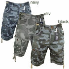Smith & Jones camo Sport Short kurze Hose Armee Bermuda Herren NEU