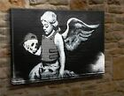 Extra Large Canvas Wall Art Picture Print Banksy Child Angel CC4