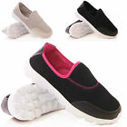 LADIES WOMENS CASUAL WALKING COMFORT SLIP ON PUMPS TRAINERS SUMMER SHOES SIZE