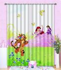 3D Tiger Meadow Blockout Photo Curtain Printing Curtains Drapes Fabric Window AU