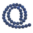1Strand 8/10/12/14mm Dark Blue Volcanic Bead For Fashion Bracelet&Necklace