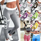Women Sports Gym Yoga Exercise Running Pants Stretchy Leggings Size 4 - 12